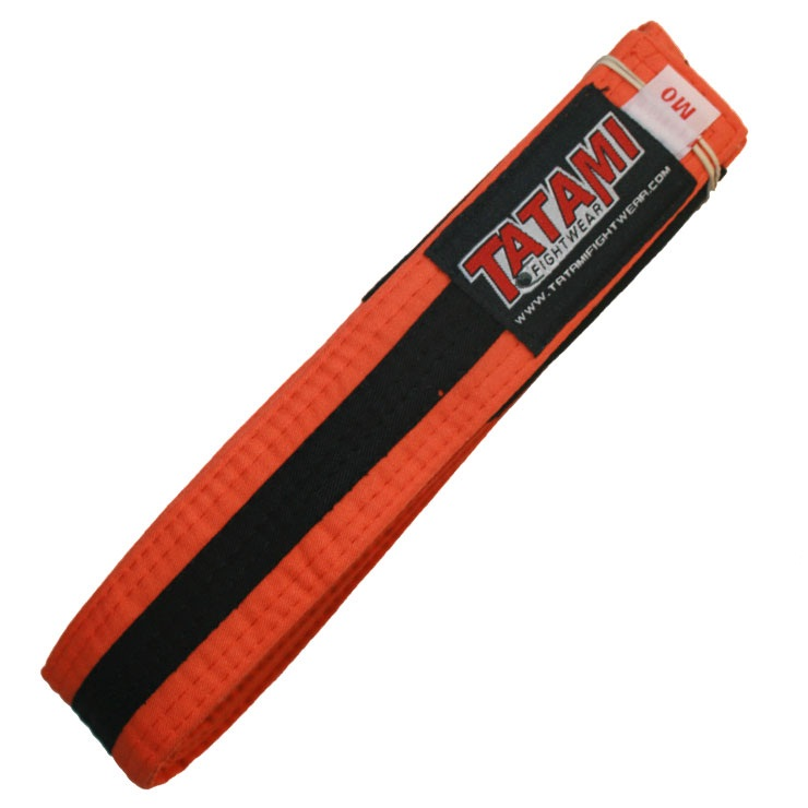 Пояс детский Tatami IBJJF Kids Rank Belts Orange/Black