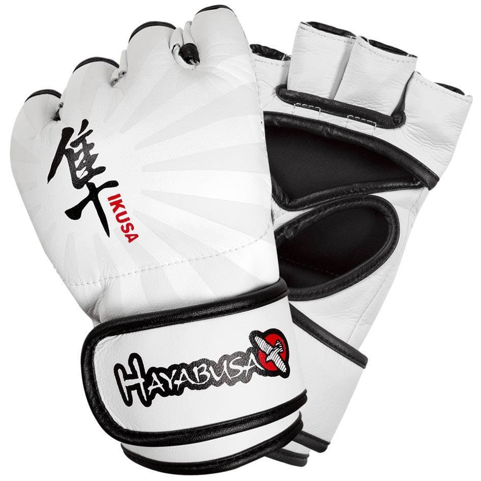 Перчатки для ММА Hayabusa Ikusa 4oz MMA Gloves - White &