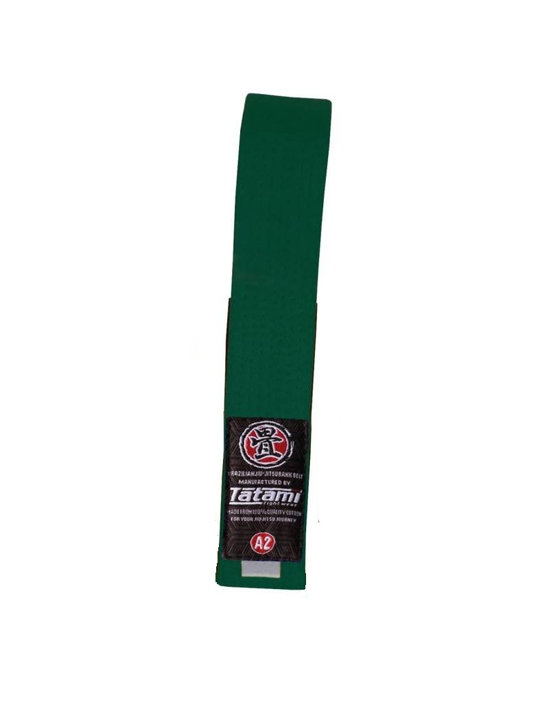 Пояс детский Tatami IBJJF Kids Rank Belts Green