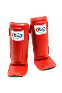 Щитки Fairtex Shin Pads SP3 Red